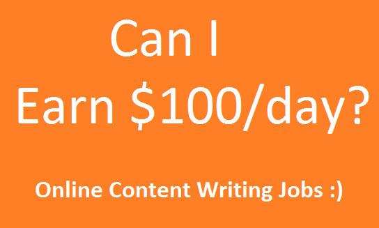 Cani I earn $100 per day?